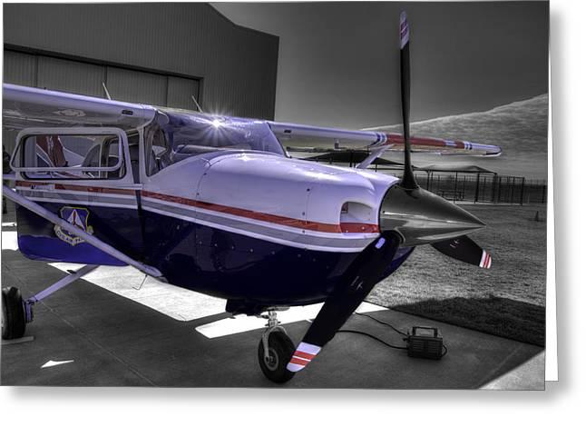 C A P Cessna 182 Skylane G1000 Fsx V2 Greeting Card by John Straton