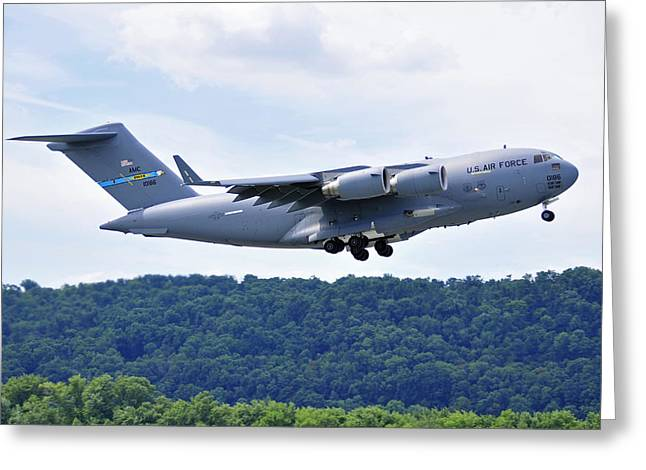 C17a Globemaster IIi Greeting Card by Dan Myers