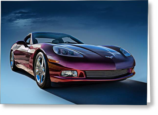 C6 Corvette Greeting Card by Douglas Pittman