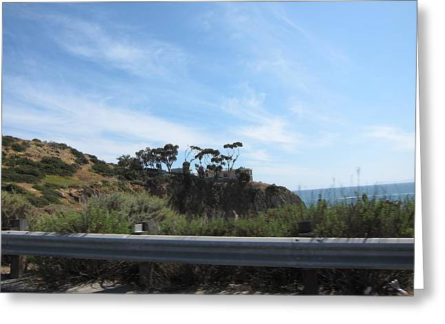 Ca Beach - 121210 Greeting Card
