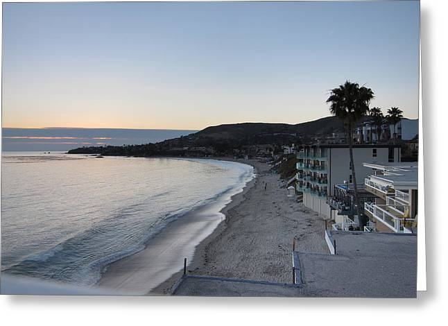 Ca Beach - 121217 Greeting Card