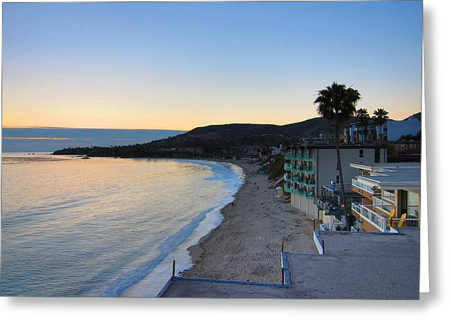 Ca Beach - 121229 Greeting Card by DC Photographer