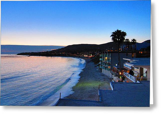 Ca Beach - 121238 Greeting Card by DC Photographer