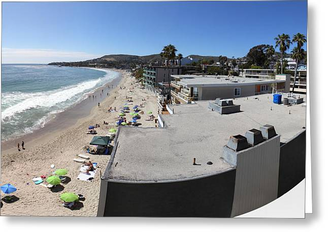 Ca Beach - 121249 Greeting Card
