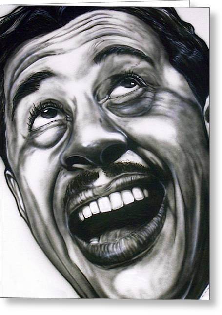 Cab Calloway Greeting Card by Mike Underwood