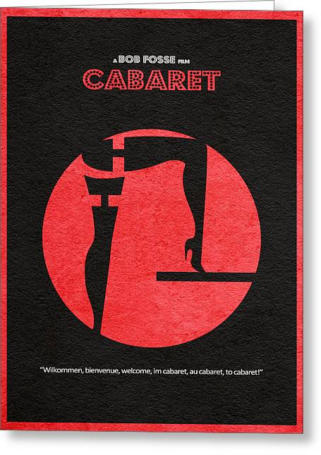 Cabaret Greeting Card by Ayse Deniz
