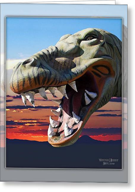 Cabazon Dinosaur Greeting Card