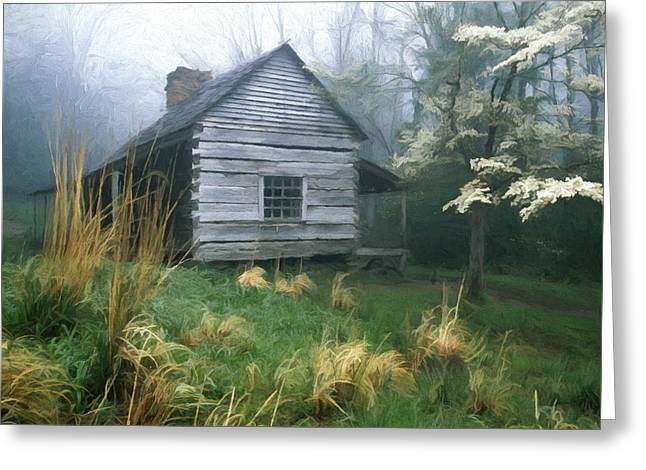 Cabin Fever On Rainy Spring Day In The Great Smoky