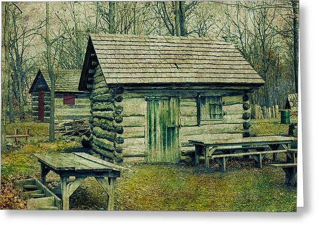 Cabins In The Woods Greeting Card