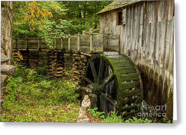 Cable Mill Cades Cove Greeting Card