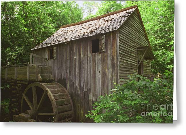 Greeting Card featuring the photograph Cable Mill In Smoky Mtns by Arthaven Studios
