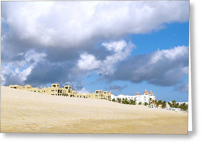 Cabo Mexico Greeting Card by Haleh Mahbod