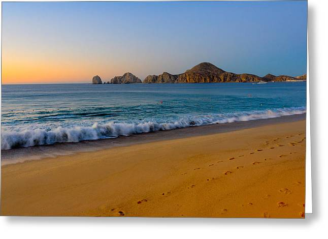 Cabo San Lucas Morning Greeting Card by Mark Goodman