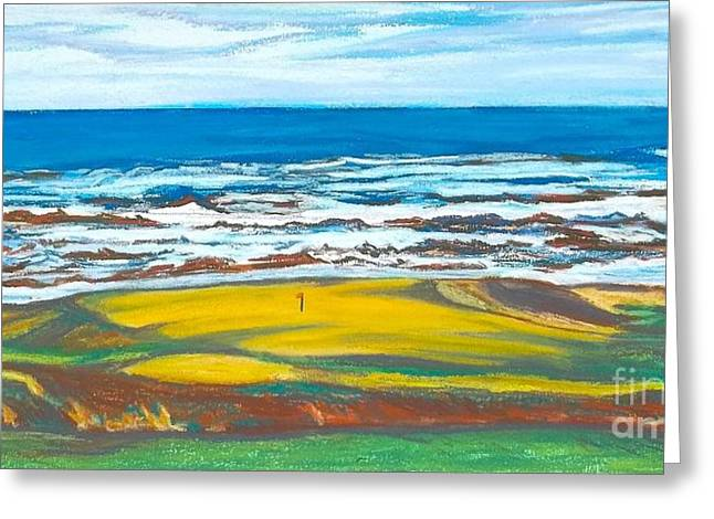 Cabot Links # 14 Greeting Card by Frank Giordano
