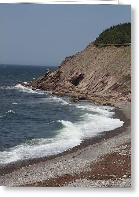 Cabot Trail Scenery Greeting Card
