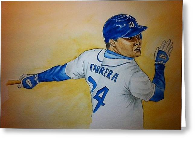 Cabrera  Greeting Card by Stephanie Reid