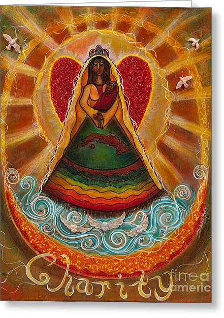Cachita Madonna Greeting Card