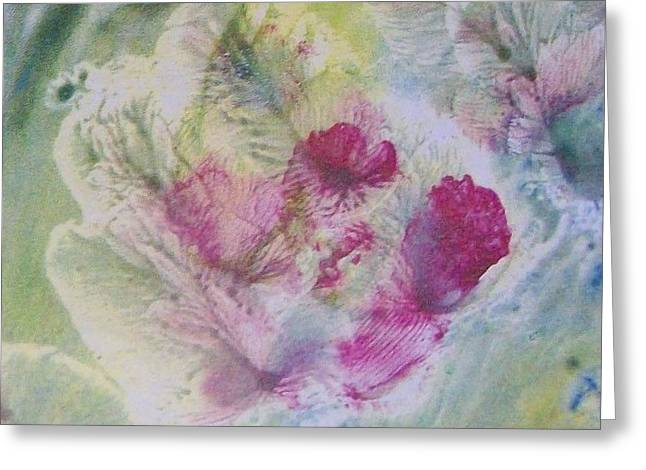 Cocoon Greeting Card by Sharon Ackley