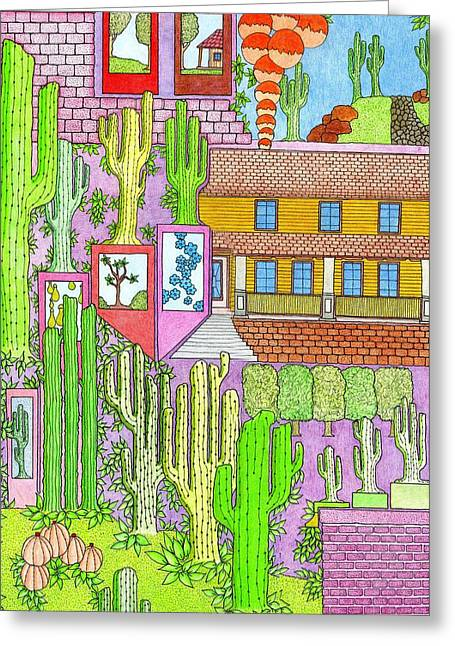 Cacti4j Greeting Card