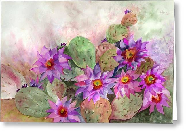 Cactus Garden Greeting Card