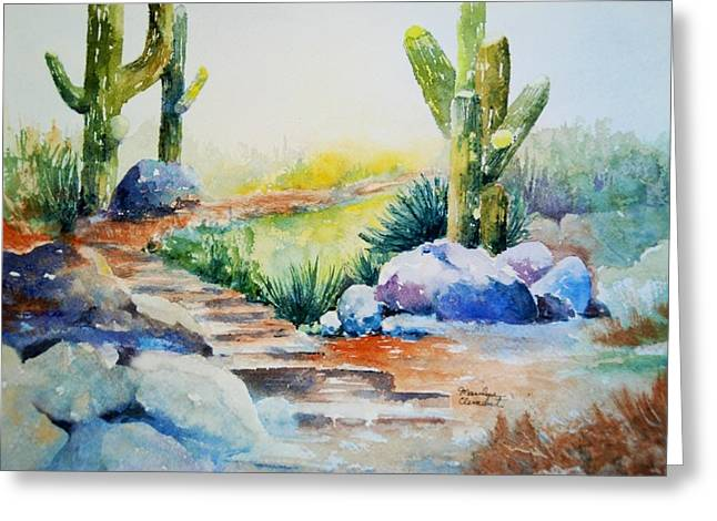 Cactus Trail Greeting Card