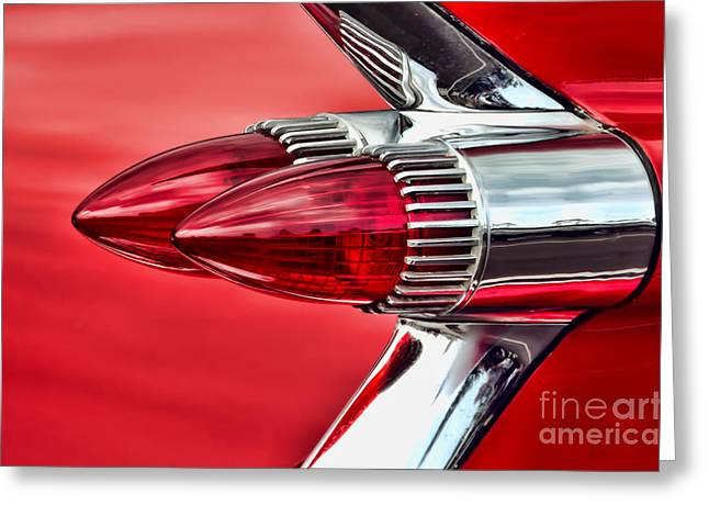 Caddy Delight Greeting Card by David Lawson
