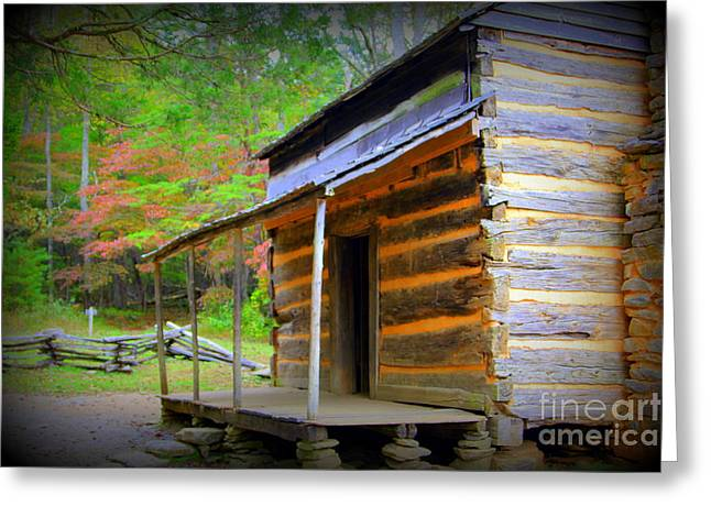 Family Heritage Cades Cove Greeting Card