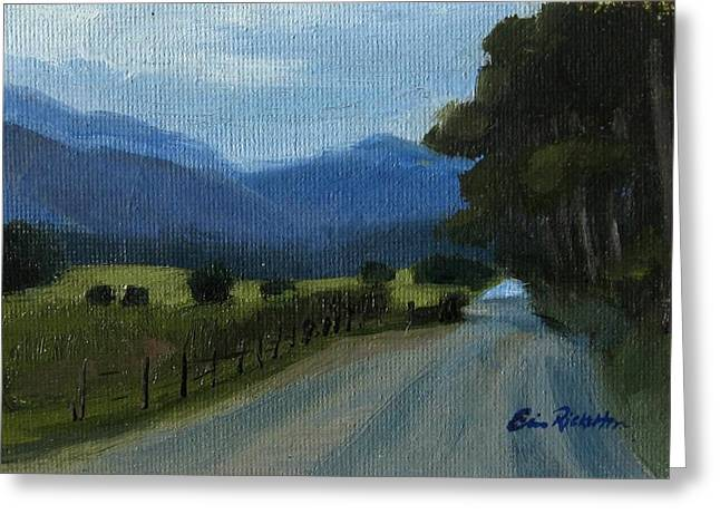 Cades Cove Greeting Card by Erin Rickelton