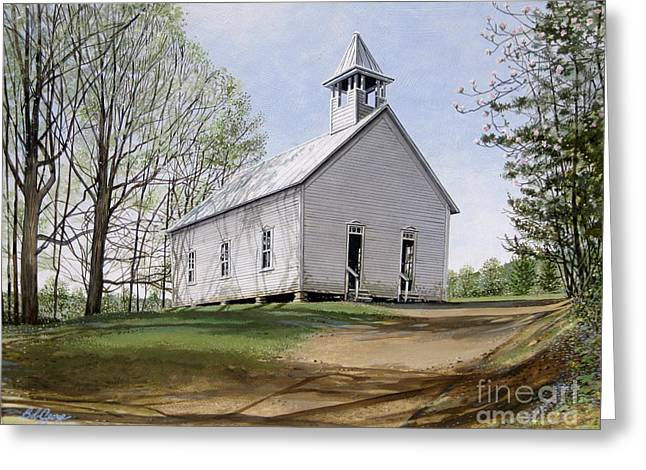Cades Cove Methodist Church Greeting Card