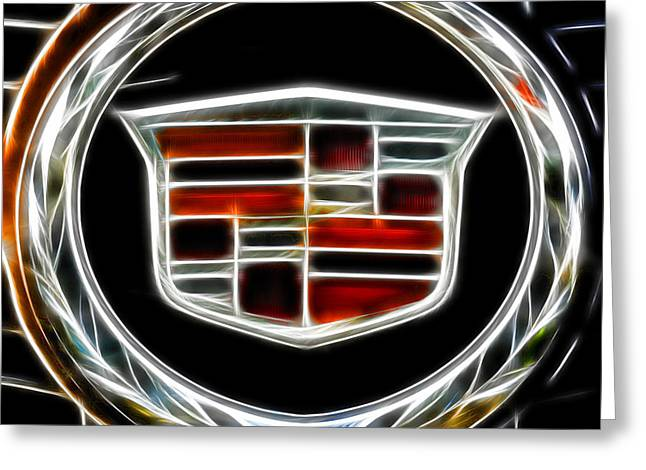 Cadillac Emblem B Greeting Card