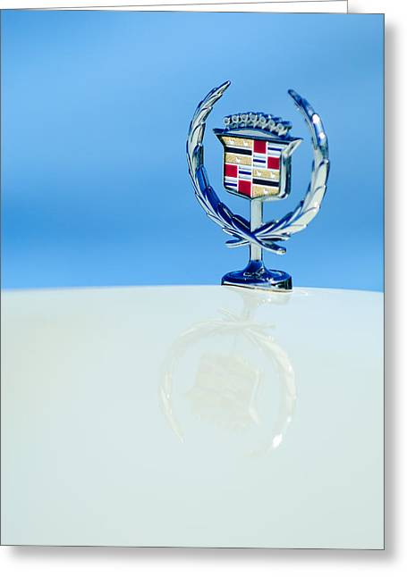 Cadillac Hood Ornament 4 Greeting Card