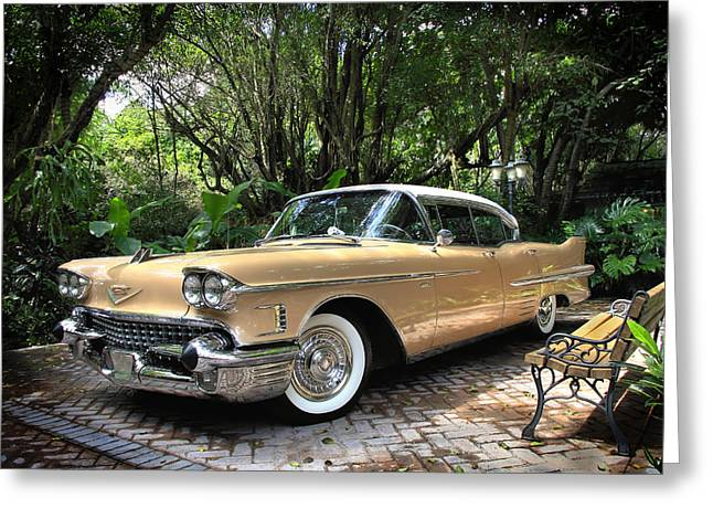 Cadillac  Greeting Card by Rudy Umans