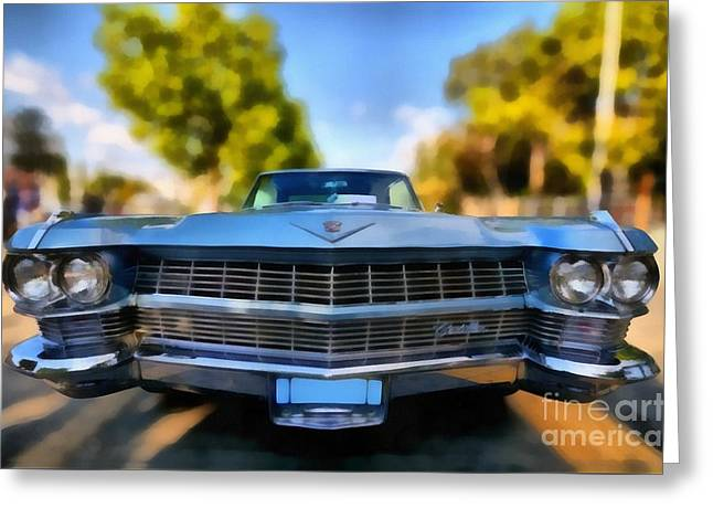 1964 Cadillac Series 62 Deville Greeting Card