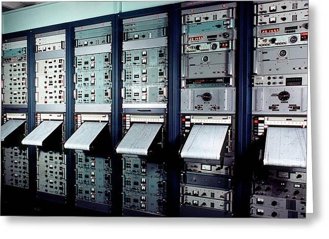 Caesium Beam Atomic Clocks Greeting Card