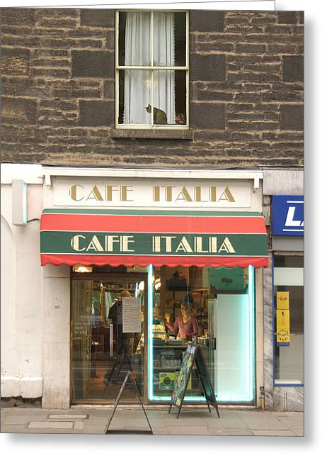 Cafe Italia Greeting Card