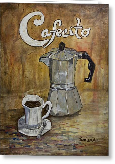 Cafecito Greeting Card