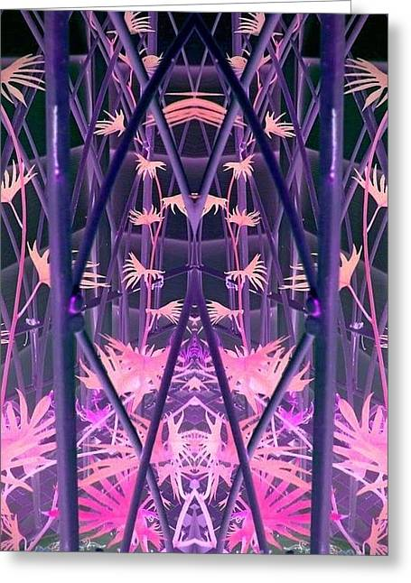 Caged 2 Greeting Card by Karen Newell