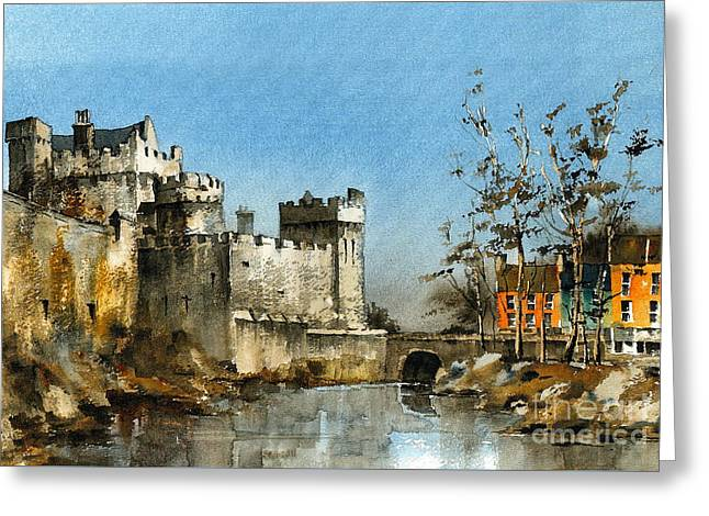 Cahir Castle  Tipperary Greeting Card