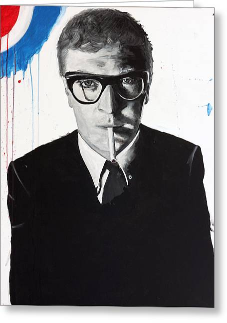 Caine Greeting Card by Harry Moses