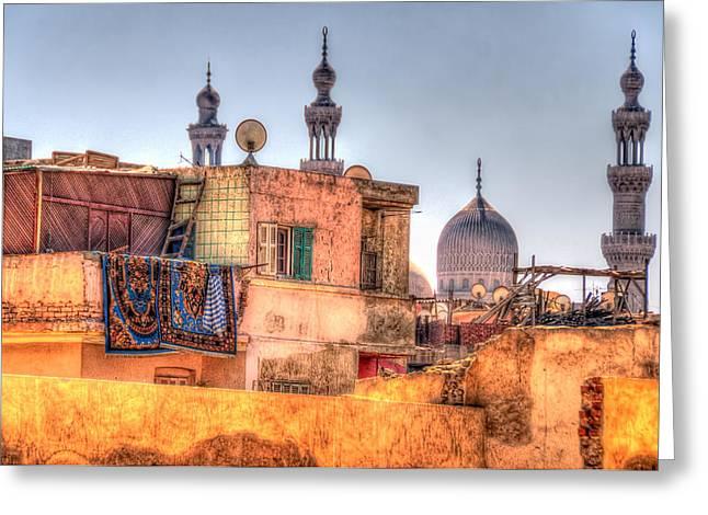 Cairo Skyline Greeting Card