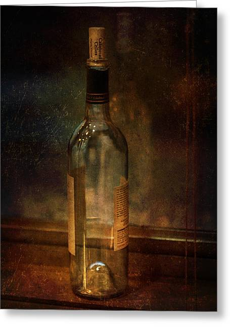 Cakebread In Window Greeting Card by Brenda Bryant