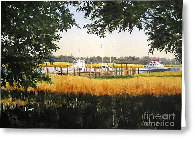 Calabash Pier Greeting Card
