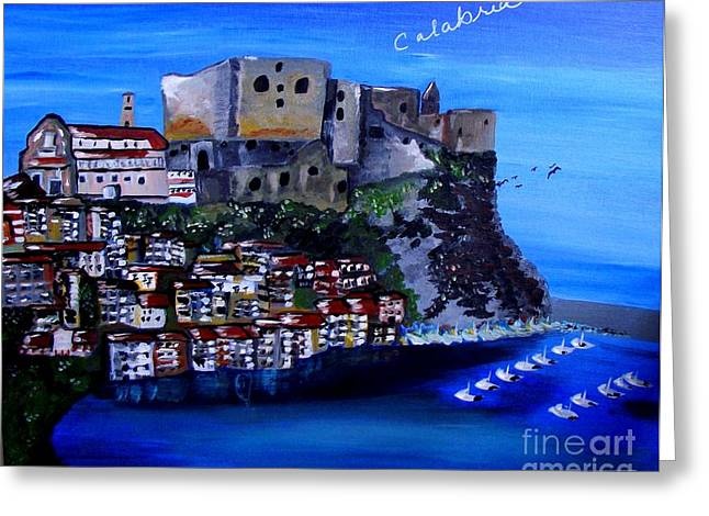 Calabria Italy Greeting Card
