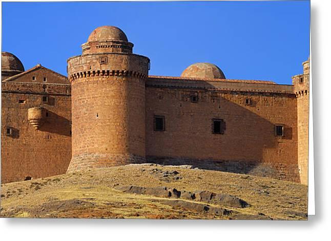 Calahorra Castle Year 1509 In Spain Greeting Card