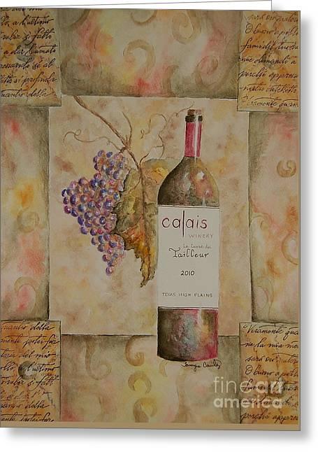 Calais Vineyard Greeting Card