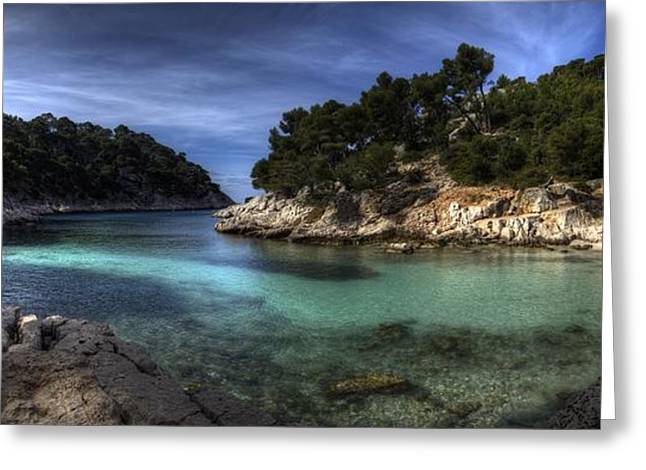 Calanque Greeting Card