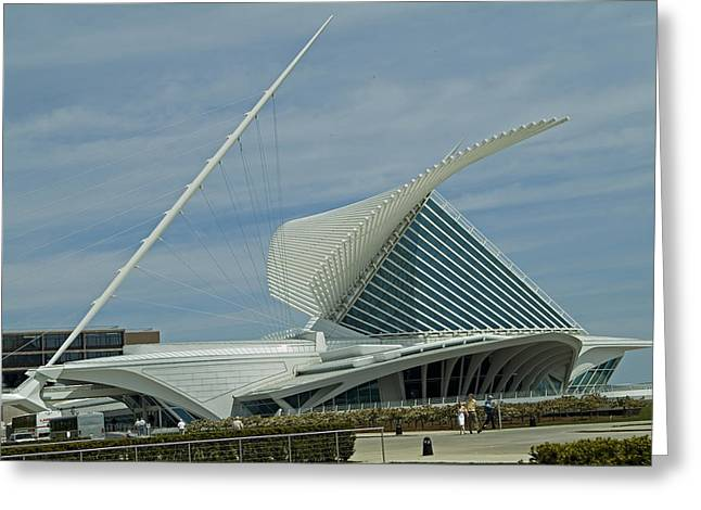 Calatrava Milwaukee Greeting Card by Devinder Sangha