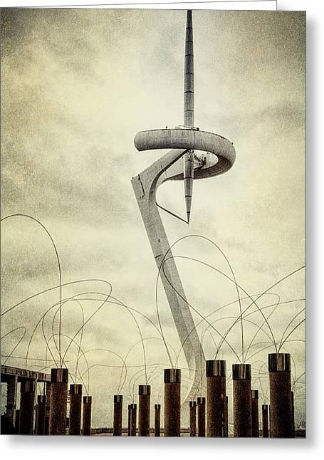 Calatrava Tower Greeting Card