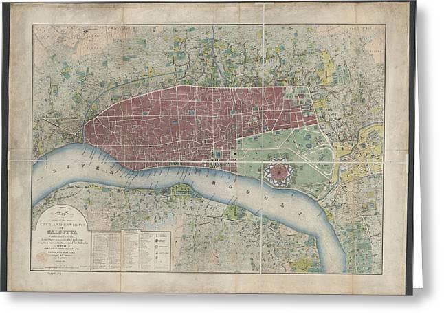 Calcutta Greeting Card by British Library