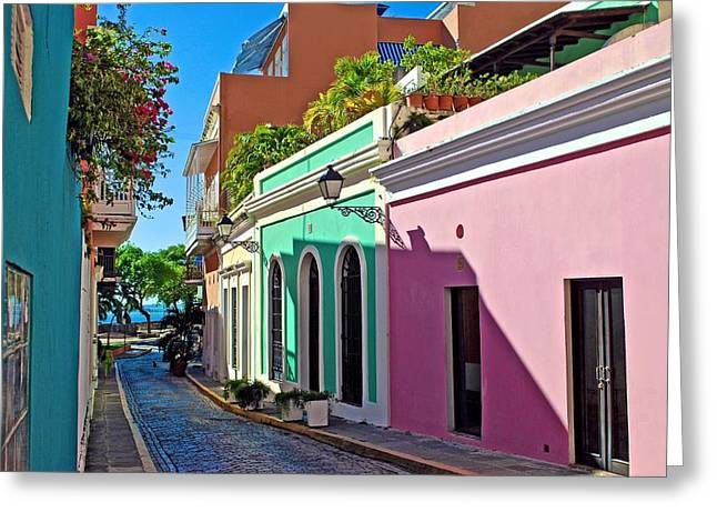 Caleta De San Juan Greeting Card by Ricardo J Ruiz de Porras